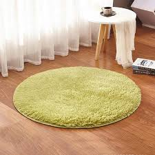grass green round rug carpets yoga living room carpet kids room rugs soft and fluffy warm custom size diameter 60 80 100 160cm carpet s and