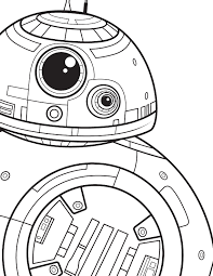 Bb 8 Coloring Page Star Wars Lol