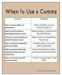 When To Use Comma When To Use Comma Tirevi Fontanacountryinn Com