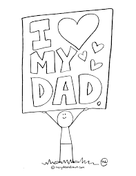 Father S Day Printable Coloring Page