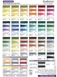 Downloadable Panpastel Color Chart Cc Chalk Pastels