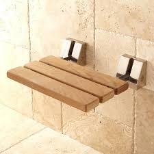 wall mounted shower chair wall mount teak folding shower seat brushed nickel futura wall mounted shower seat with backrest and armrests without legs
