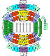 seating chart for gator bowl everbank field tickets gator bowl jacksonville fl schedule and