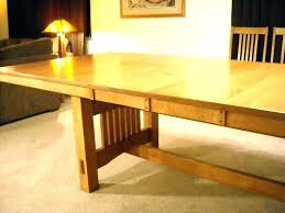 dining tables mission dining table plans room set com style expanding woodworking expandable ki