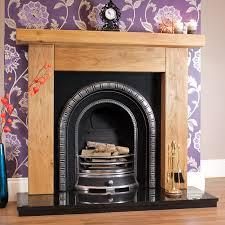 ashford rustic solid oak beam fireplace