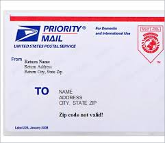 Free Address Labels By Mail 40 Free Shipping Label Templates Excel Inspiration Free Mailing Label