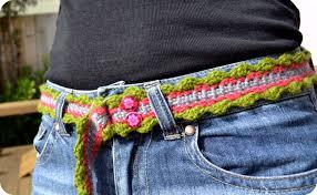 Crochet Belt Pattern Simple Design Ideas