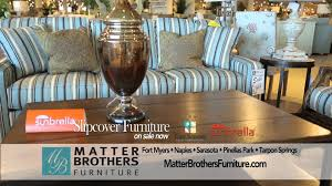 Matter Brothers Furniture Slipcover mercial