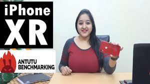 iPhone XR - ANTUTU Benchmark - YouTube