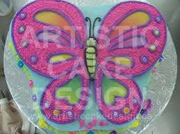 Butterfly Cake Design Pictures