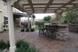 paver patio with pergola. Patio Paver Under Pergola With E