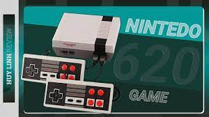 Trên tay mở hộp và trãi nghiệm nhanh bộ máy chơi game 4 nút 2 người chơi  tích hợp sẵn 620 game - YouTube