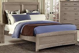 Driftwood Bedroom Furniture House Transformations Driftwood Oak King Panel Bed