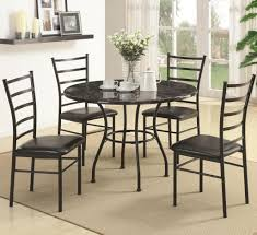 ... Dining Chairs, Dinette Sets Black Metals Frame Kitchen Metal Dining  Room Chairs Ideas: Outstanding ...