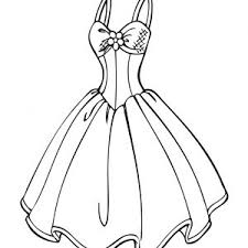 Coloring Barbie Dress New Wedding Dress Coloring Page For Girls