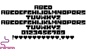 It's the one being used in the popular video game of 2015 and has been made by nathan vegdahl. Undertale Logo Font Free Download
