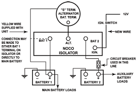 2 battery wiring question land rover forums land rover rv battery isolator test at Rv Battery Isolator Diagram