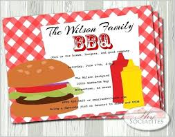 barbecue invitation template free bbq invitation template word best invitations images on party