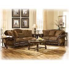 6310035 ashley furniture fresco durablend antique living room loveseat
