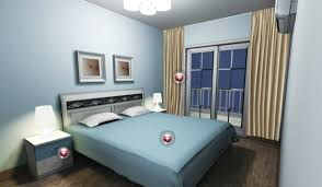what color curtains with light blue walls also light blue walls white lighting in bedroom source digsdigs соm
