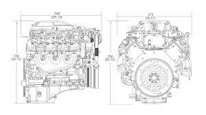 Engine Dimensions Chart Lsa 6 2l Supercharged V8 Engine Gm Powertrain Oem Sales