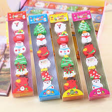 2019 erasers rubbers xmas eraser gift boys s stocking filler in cute gift box set from creativebar 80 41 dhgate
