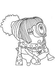 Small Picture 11 best Kleurplaten Minions images on Pinterest Coloring pages