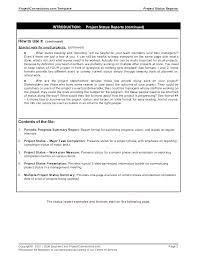 Status Report Format Parts Plain Book Cover Template For Resume One Page Summary Report