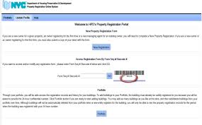 Your Hpd Compliance - Owners Property Register