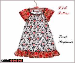 Peasant Dress Pattern Beauteous Amelia PEASANT DRESS PATTERN Free MotherDaughter Apron