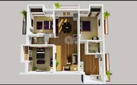 Insight Of 3 Bedroom 3D Floor Plans In Your House Or Apartment DesignModern Apartment Floor Plans