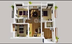 3 Bedroom Flat Floor Plan Impressive Concept Apartment Fresh On 3 ...