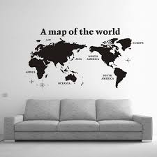 Small Picture Au Seller Maga Size World Map New Designs Removable Wall Sticker