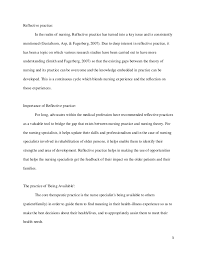 samples of reflective essays for nurses introduction  samples of reflective essays for nurses the top 10 fresh ideas for ethnographic essay topics