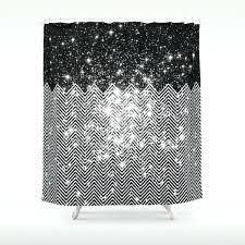 black and white shower curtain chevron black white shower curtain black and white striped shower curtain