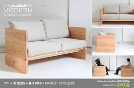 contemporary wood sofa. Exellent Wood HomeMade Modern DIY EP66 Box Sofa Postcard Intended Contemporary Wood