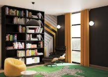Home office shelf Full Length Wall Smart Shelving In The Modern Home Office Is An Absolute Must Irrespective Of Its Size And The Task That It Is Used For Open Extensive Shelves Give The Decoist 25 Home Office Shelving Ideas For An Efficient Organized Workspace