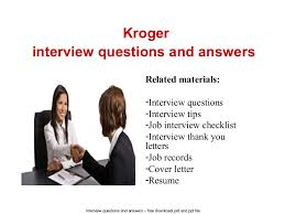 Kroger Resume Examples Example Cover Letters For Kroger Insaat Mcpgroup Co