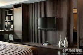 modern bedroom with tv. Modern Bedroom With Tv Top Design TV Background Wall Decoration D