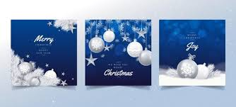 Merry christmas and happy new year with realistic balls. Christmas Card Merry Images Free Vectors Stock Photos Psd
