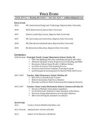 Resume Templates Things To Put On Good Frightening A For