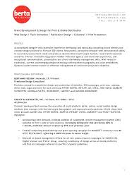 How Long Should A Resume Be Fascinating Berta Resume