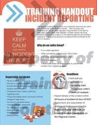 Incident Report Handout Shafaq Incident Report