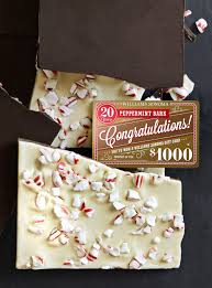 williams sonoma if you peppermint bark