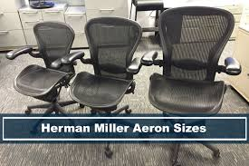 Aeron Miller Size Chart Herman Miller Aeron Chair Sizes Whats Differences