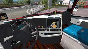 freightliner trucks interior. daimler freightliner inspiration interior v30 124x for ets 2 trucks
