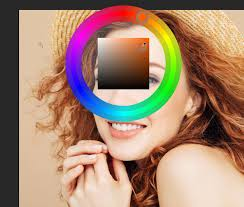 how to add the color wheel in photo cs6