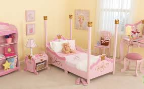 ... Excellent Decorating Ideas For Toddler And Little Girls Bedroom :  Knockout Pink And Curve Furniture Decorating ...