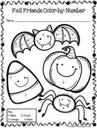 Stop by my store for other free color by numbers and follow. Halloween Color By Number Freebie By Kindergarten Kel Tpt