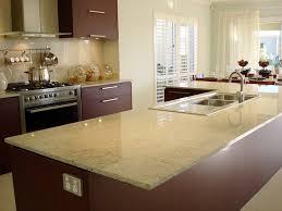 cream kitchen cabinets with quartz countertops kitchen